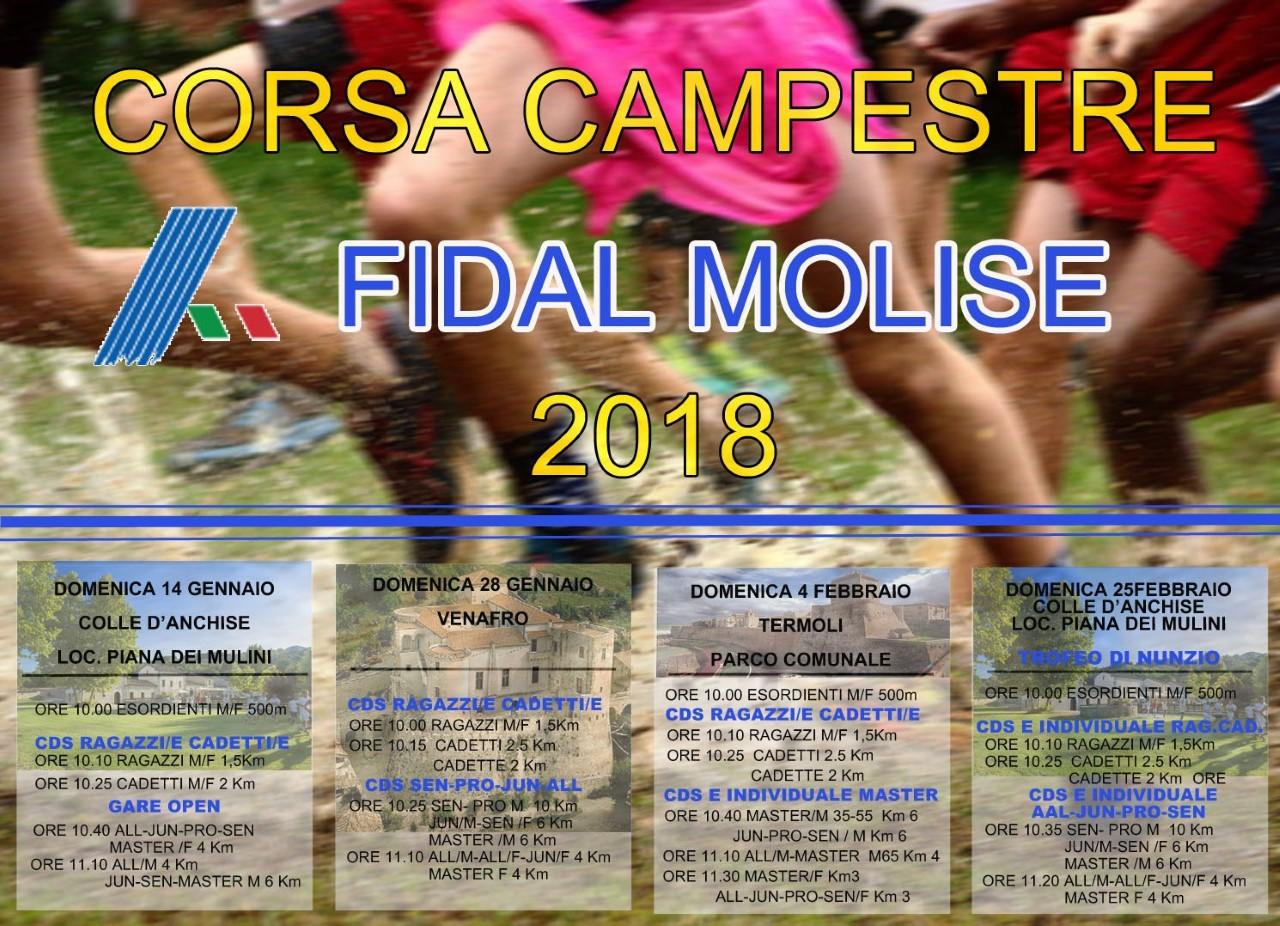 Calendario Fidal Calabria.Fidal Al Via La Stagione Invernale Quotidianomolise Com