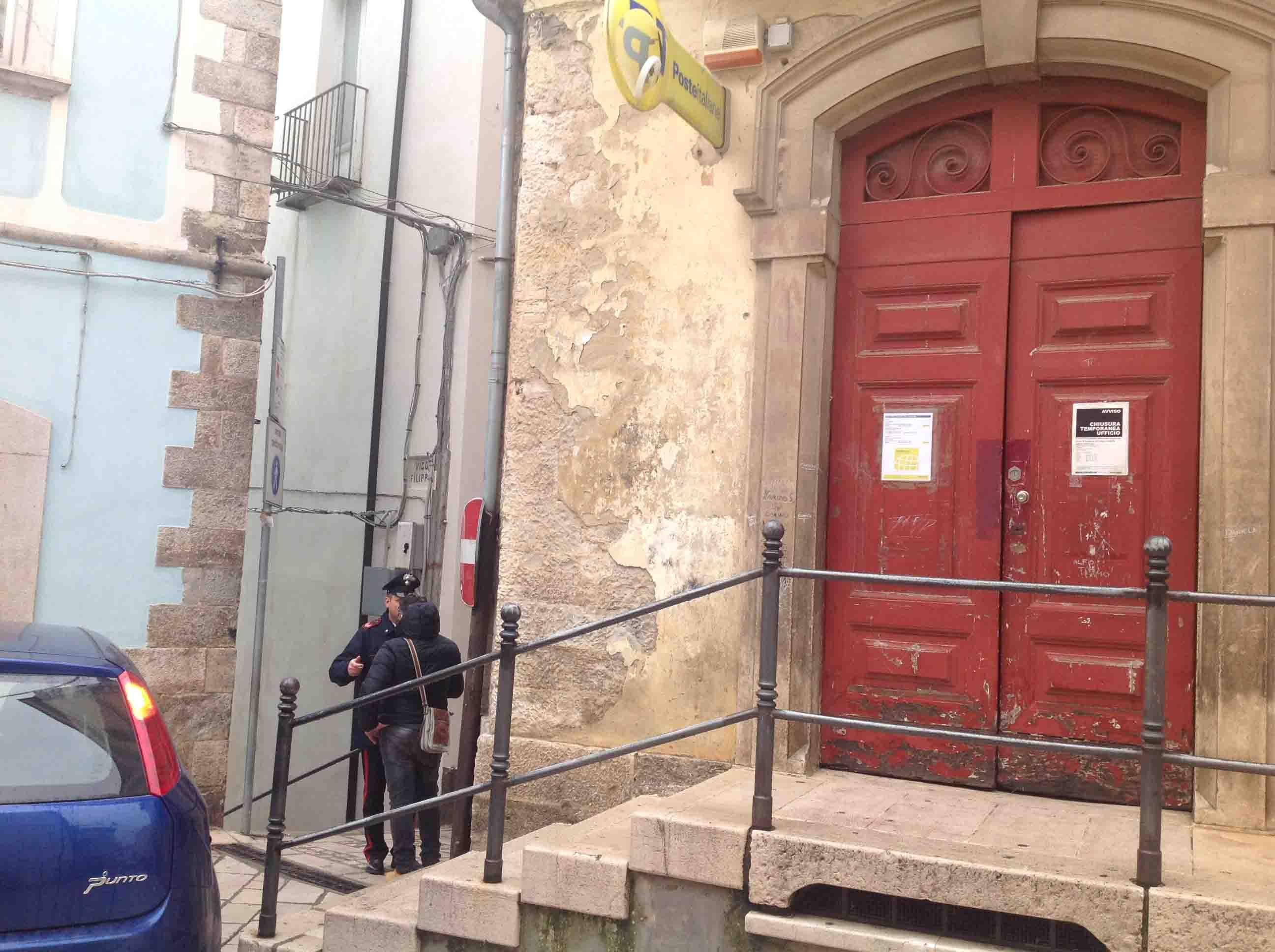 Rapinato l'ufficio postale di Larino (FOTO ...